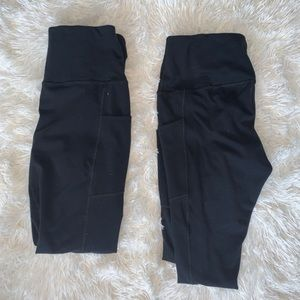ACCEPTING ALL OFFERS!! 2 POCKET LEGGINGS!!